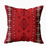 HerysTa 20x20 Pillow Case, Home Cotton Throw Pillow Case Invisible Zipper Cushion Cases Ethnic Tribal Pattern Boho Square Sofa Bed Decor