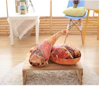 YOOKOON Ham Shape Plush Pillow Cushions Toy Creative Throw Pillow Holding Pillow Food Cushion Gift 19.7""