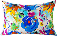 SLPBABY Silk Pillowcase for Hair and Skin with Hidden Zipper Print (Queen, Pattern5)