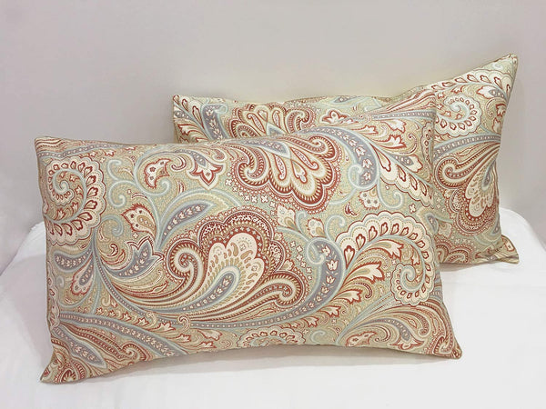yuqinBB 100% Cotton Pillow Cases Pillow Shams Covers Set of 2 Standard Size (Pattern 03)