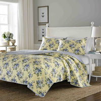 Laura Ashley Linley Quilted European Sham Set