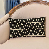 30*50CM Cushion Cover Decorative Throw Pillow Case Black And White Geometric Diamond Lumbar Pillowcase Ethnic Pattern Home Decor
