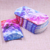 24pcs/1lot Wholesale Pillow Shape Jewelry&necklace&Earring DIsplay Box original designs flower pattern Gift box 20X55X80mm