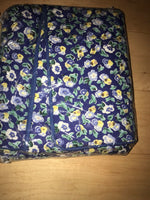 1 New Laura Ashley Blue yellow Floral Quilted Standard Pillow Shams 2 Avaiable