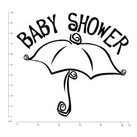 Baby Shower New Born Baby Nursery & Baby Wall Stickers Home Decor Art WS-17084
