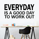 Diy everyday work Wall Stickers Modern Interior Art Wall Decoration Baby Kids