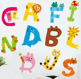 26 Alphabet Animals Wall Sticker Vinyl Decal Baby Kids Boys Girls Nursery Decor
