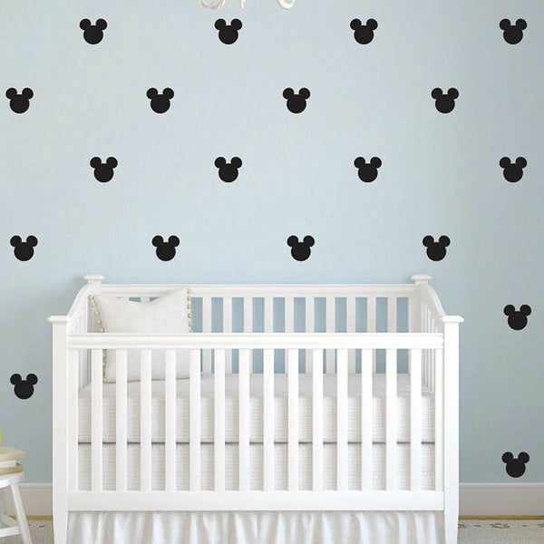 27 Pc's Mickey Mouse Baby Girl Kids Wall Stickers Decor Room Bedroom Vinyl Wall