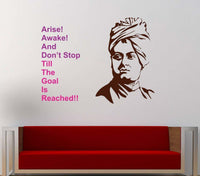 Swami Vivekanandha Wall Stickers Home Bedroom Decal Vinyl Decor Baby Room