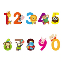 .0Numbers Animals Removable Wall Sticker Nursery Baby Decor Kids Decal Art Mural