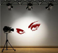 Giant Eyes Wall Decals & Stickers Home Decor & DIY