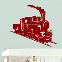 Wall Decal Vinyl Sticker Decor Nursery Kids Baby Train Thomas Choo Choo (Z723)