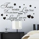 Kids Bedroom Wall Stickers Childrens Baby Decorations Home Vinyl Quotes Decals