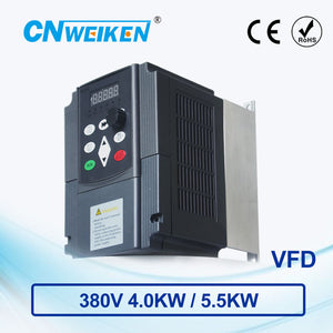 380V 4.0kw/5.5kw ac motor speed controller