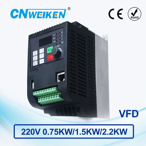 0.75kw-2.2kw three-phase 220V to Three-phase 220V variable frequency inverter