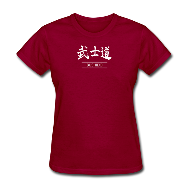 Bushido T Shirt - dark red