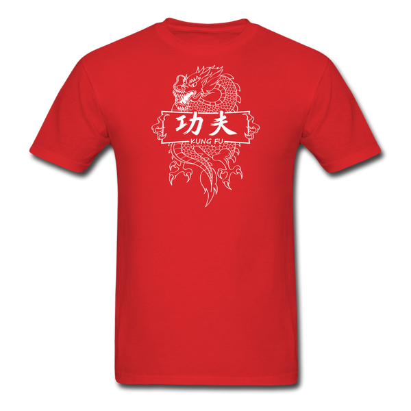 Dragon Kung Fu T-Shirt - red