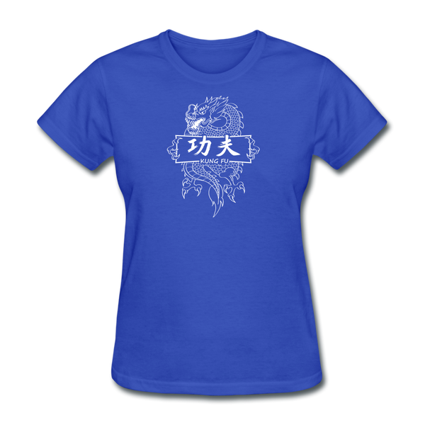Dragon Kung Fu T-Shirt - royal blue