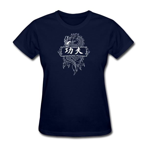 Dragon Kung Fu T-Shirt - navy