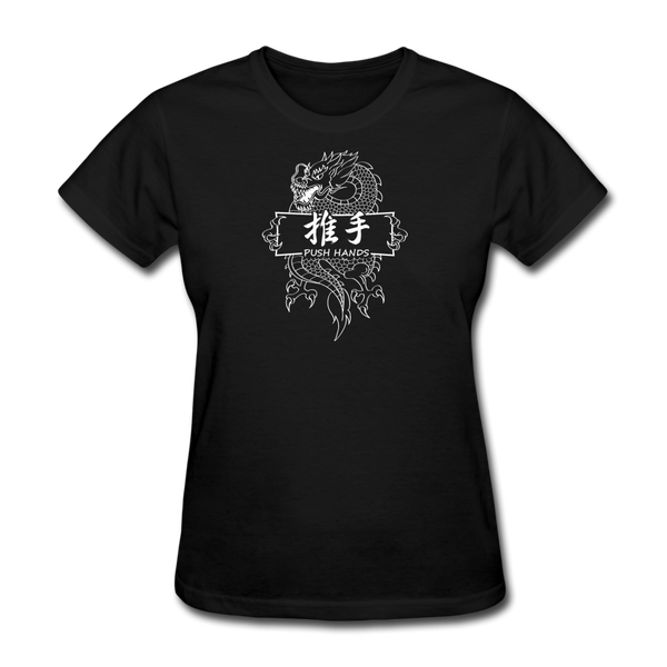 Dragon Push Hands T-Shirt - black