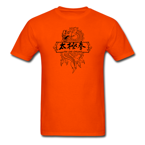 Dragon Tai Chi Chuan T-Shirt - orange