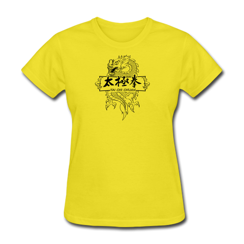 Dragon Tai Chi T-Shirt - yellow