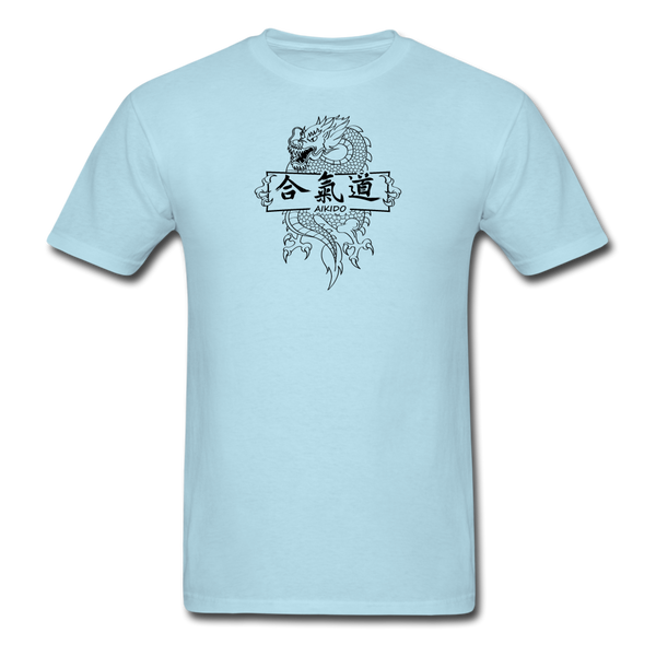 Dragon Aikido T-Shirt - powder blue