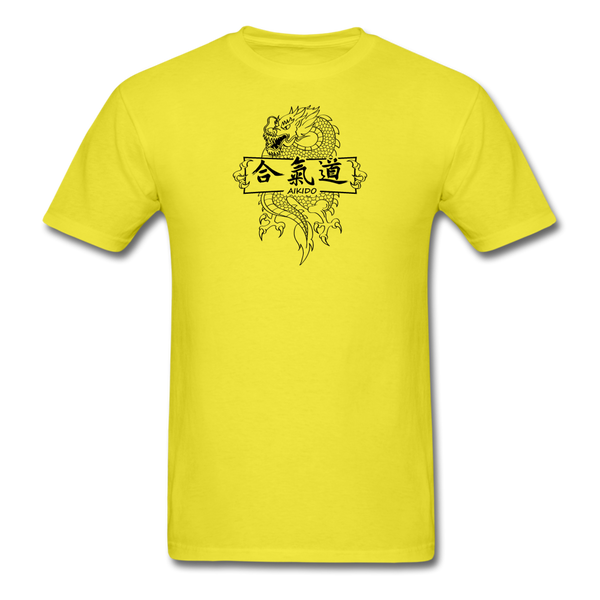 Dragon Aikido T-Shirt - yellow