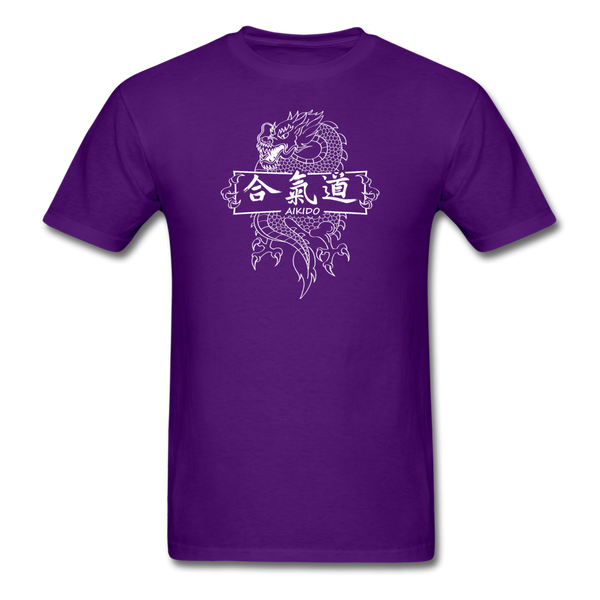 Dragon Aikido T-Shirt - purple