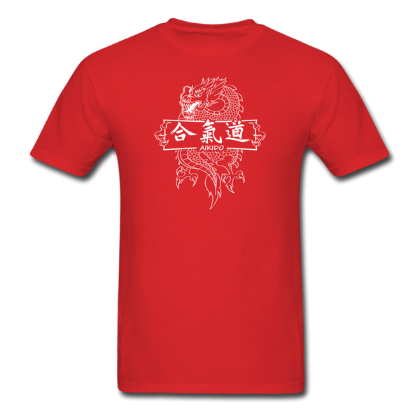 Dragon Aikido T-Shirt - red