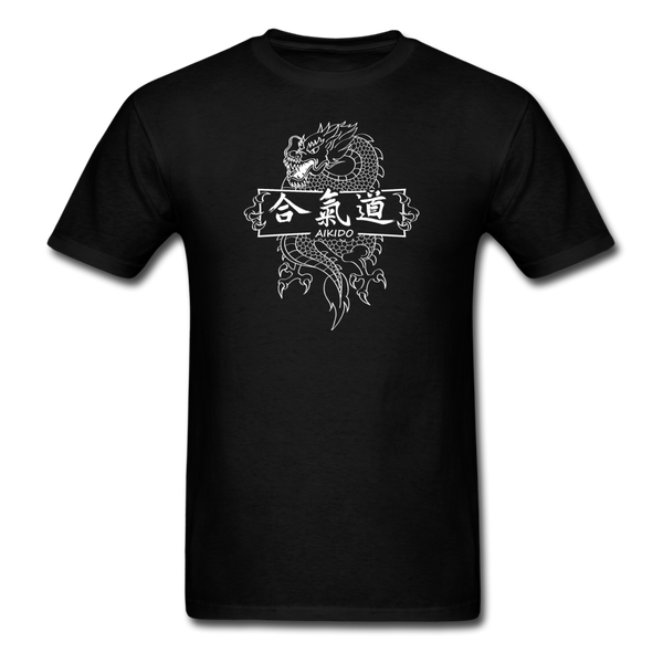 Dragon Aikido T-Shirt - black