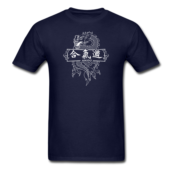 Dragon Aikido T-Shirt - navy