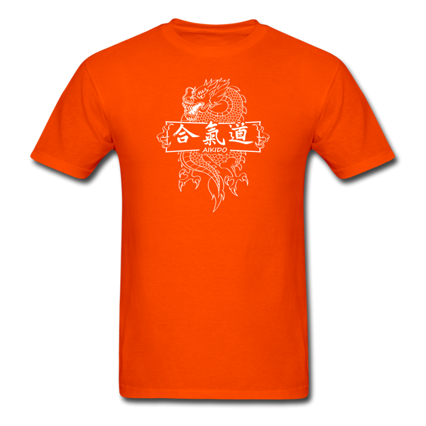 Dragon Aikido T-Shirt - orange