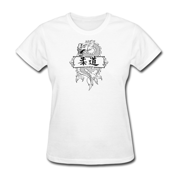 Dragon Judo T-Shirt - white