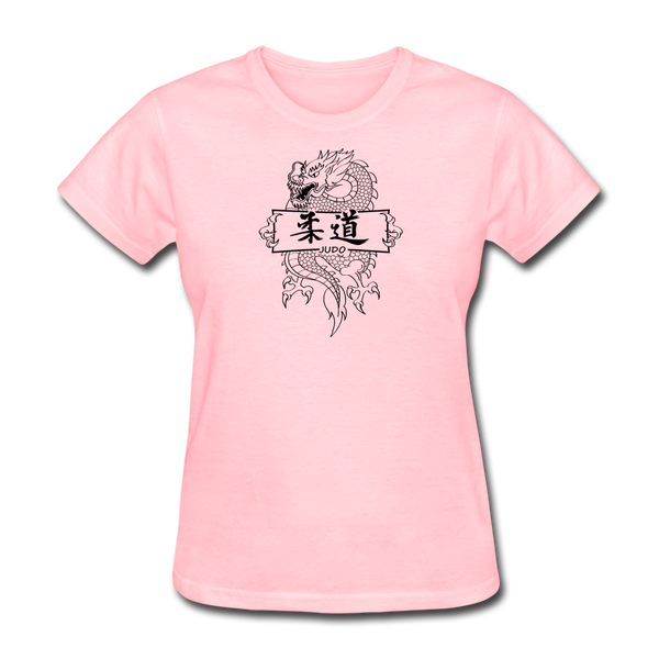 Dragon Judo T-Shirt - pink