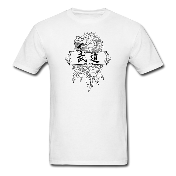 Dragon Budo T-Shirt - white