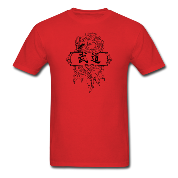 Dragon Budo T-Shirt - red