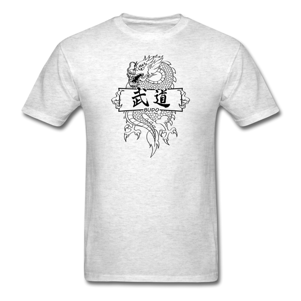 Dragon Budo T-Shirt - light heather gray
