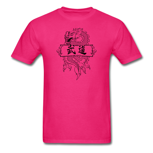 Dragon Budo T-Shirt - fuchsia
