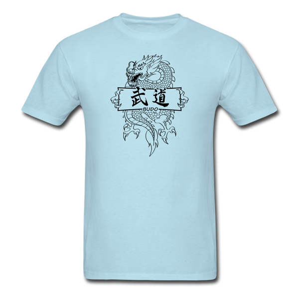 Dragon Budo T-Shirt - powder blue