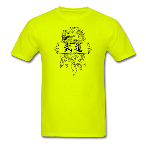 Dragon Budo T-Shirt - safety green