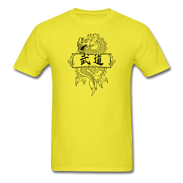 Dragon Budo T-Shirt - yellow
