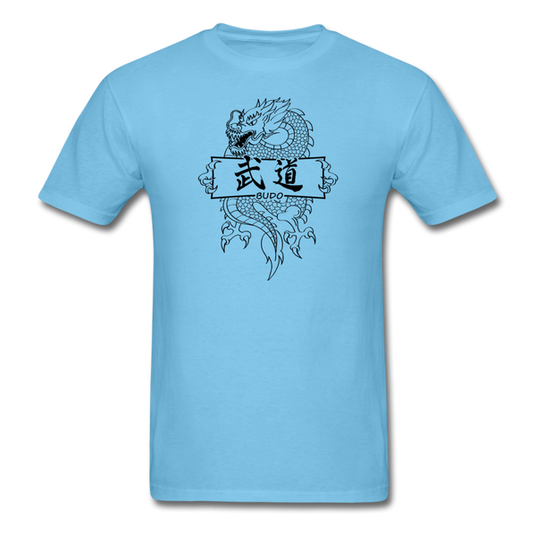 Dragon Budo T-Shirt - aquatic blue
