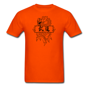 Dragon Budo T-Shirt - orange