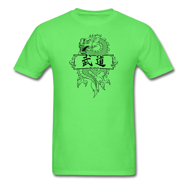 Dragon Budo T-Shirt - kiwi