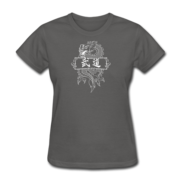Dragon Budo T-Shirt - charcoal
