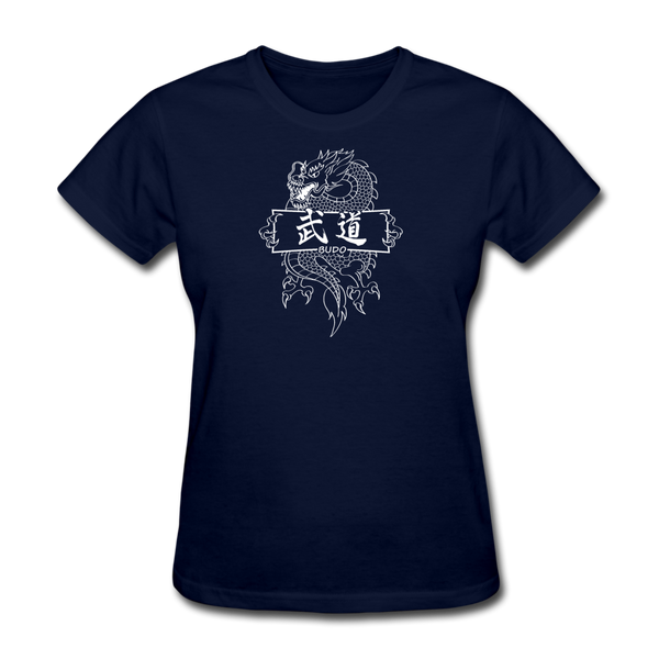 Dragon Budo T-Shirt - navy