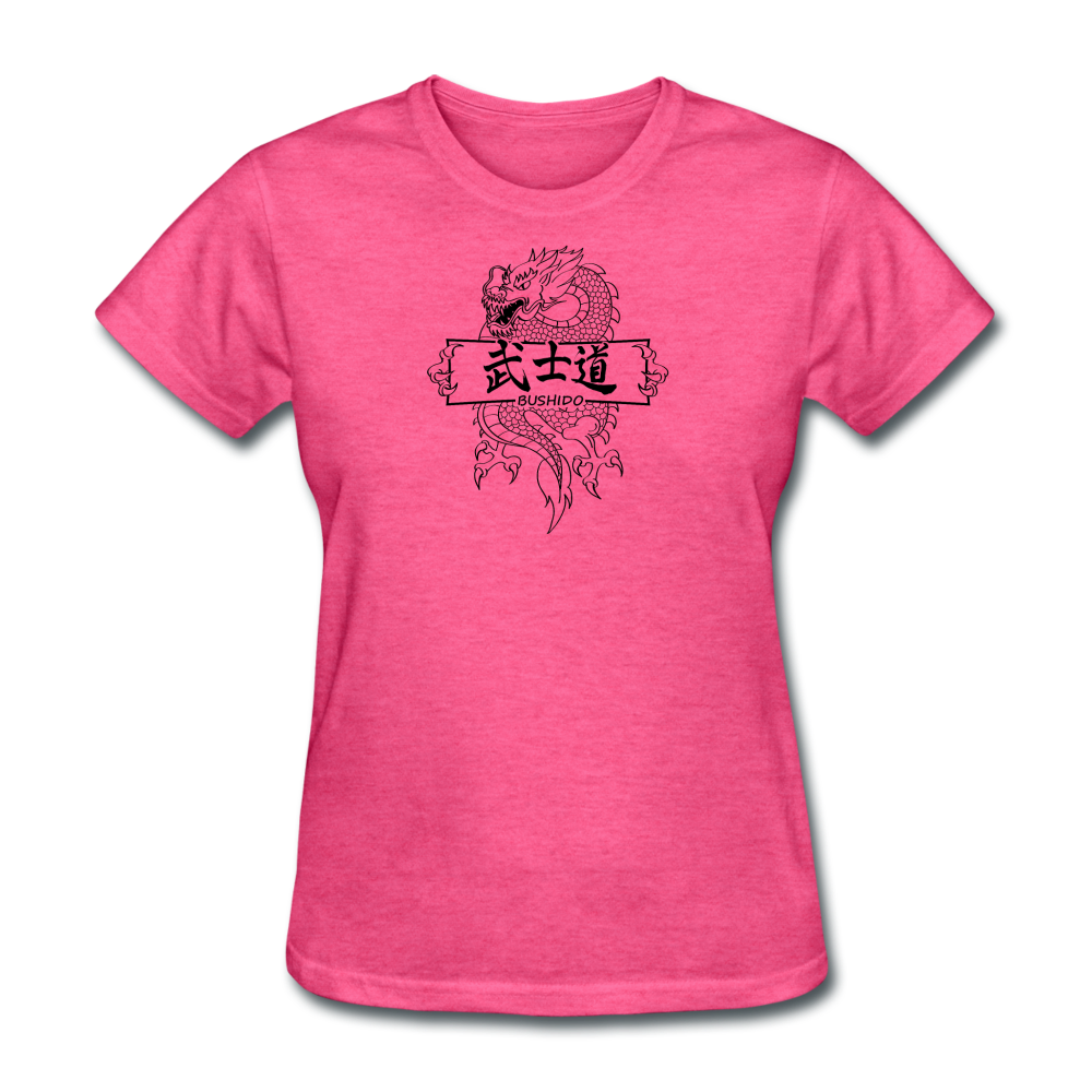 Dragon Bushido T-Shirt - heather pink