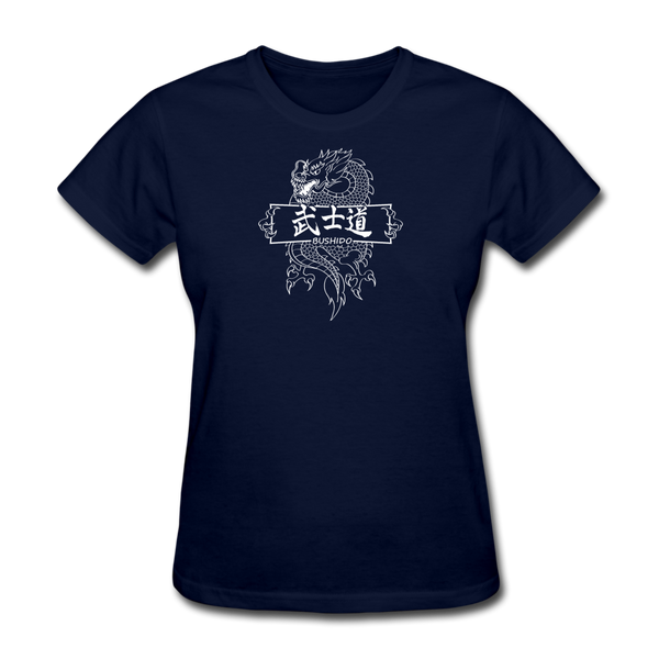 Dragon Bushido T-Shirt - navy