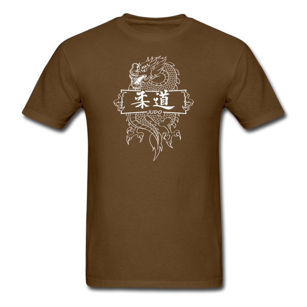 Dragon Judo T-Shirt - brown